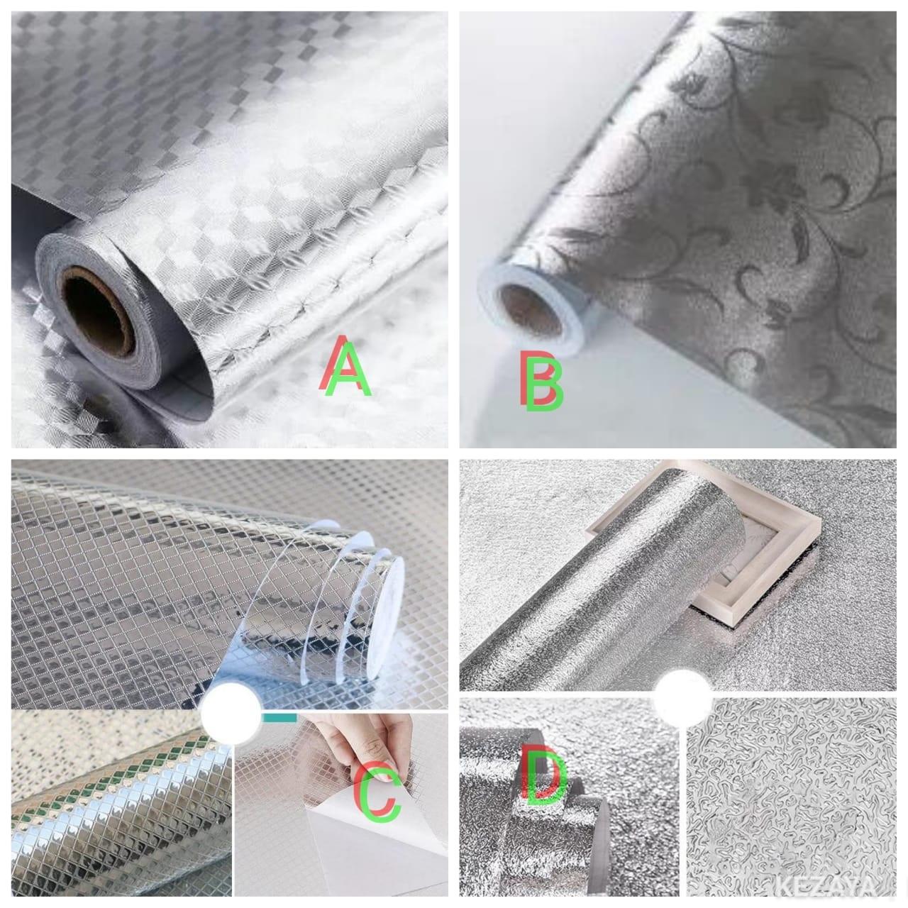 Silver Kitchen Aluminum Foil /kitchen table top mat